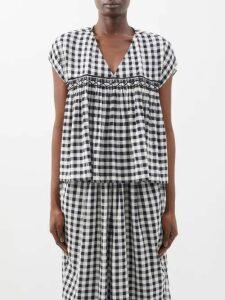 Adriana Iglesias - Scarface Silk Blend Satin Dress - Womens - White