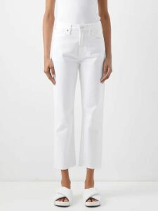 Msgm - Fringed Sequinned Skirt - Womens - Gold