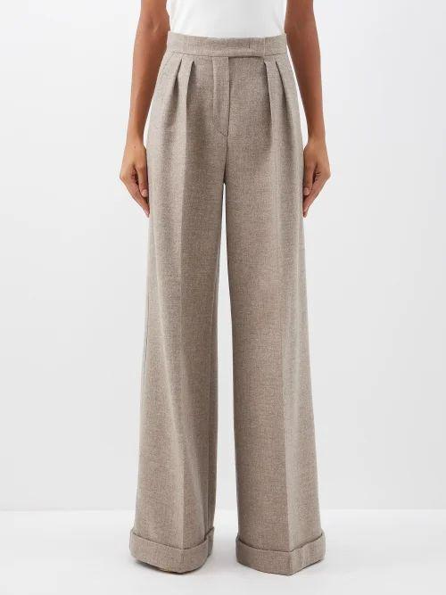 Ganni - Angela Fringed Leather Jacket - Womens - White