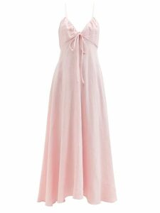 Norma Kamali - Draped Jersey Cardigan - Womens - Red