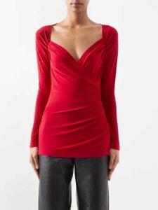 Jil Sander - Oversized Cashmere Sweater - Womens - Orange