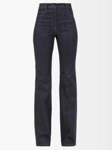 Ganni - Ridgewood Corduroy Midi Shirtdress - Womens - Light Pink