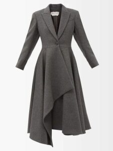 Shrimps - Lucia Sequin Mesh Midi Dress - Womens - Light Blue