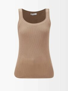 Emilia Wickstead - High Rise Floral Print Midi Skirt - Womens - Multi