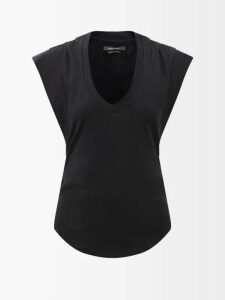 Preen By Thornton Bregazzi - Maria Pleated Georgette Midi Skirt - Womens - Green Multi