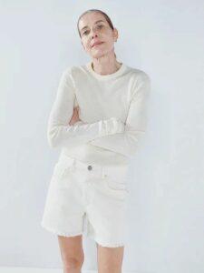 See By Chloé - Velvet Midi Skirt - Womens - Navy