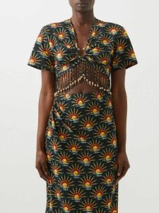 Sportmax - Sabrina Skirt - Womens - Black Multi
