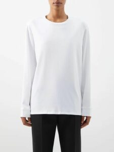 Altuzarra - Felice Floral Print Silk Crepe De Chine Midi Skirt - Womens - Beige Multi