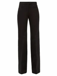 Roland Mouret - Hurst Silk Blend Cloqué Skirt - Womens - Blue