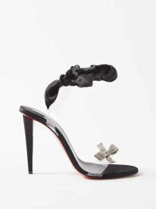 Jw Anderson - Pussy Bow A Line Dress - Womens - Black