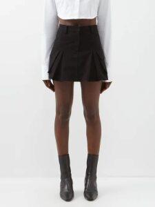 Borgo De Nor - Coco Orchid And Leopard Print Crepe Midi Dress - Womens - Red Print
