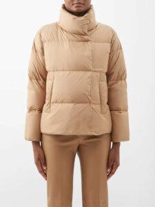 Jw Anderson - Draped Long Dress - Womens - Black