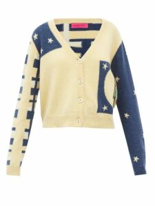 Vetements - Floral Print Pleated Jersey Midi Dress - Womens - Pink Multi