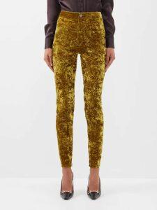 Diane Von Furstenberg - Ani Ditsy Print Silk Chiffon Wrap Dress - Womens - Blue Print