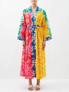 Redvalentino - Seam Detail Twill Mini Dress - Womens - Red