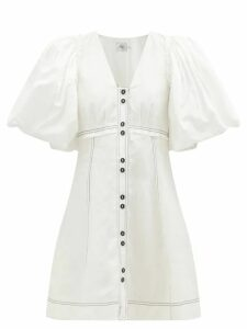 Burberry - Levesham Tan Lambskin Shearling Coat - Womens - Beige
