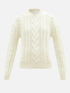 Prada - Belted Denim Mini Skirt - Womens - Denim