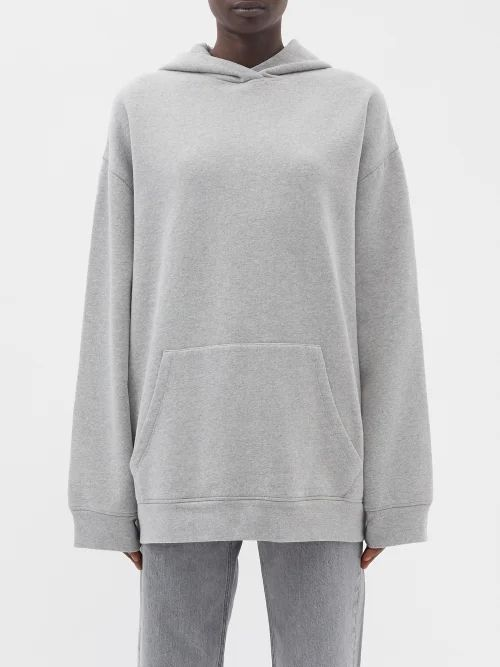 Ganni - Check Double Breasted Stretch Twill Blazer - Womens - Pink Multi