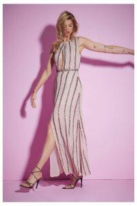 Nasty Gal Studio All Night Long Beaded Dress