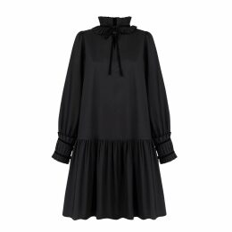 Nissa - Loose Dress With Floral Print