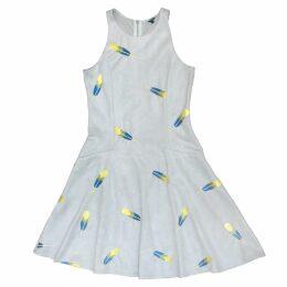 Nissa - Midi Dress Multicolor With V Neckline
