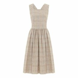 SABINNA - Aurora Dress Soft Check