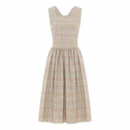 SABINNA - Aurora Dress Soft Check