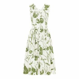 SABINNA - Aurora Dress Green Flowers