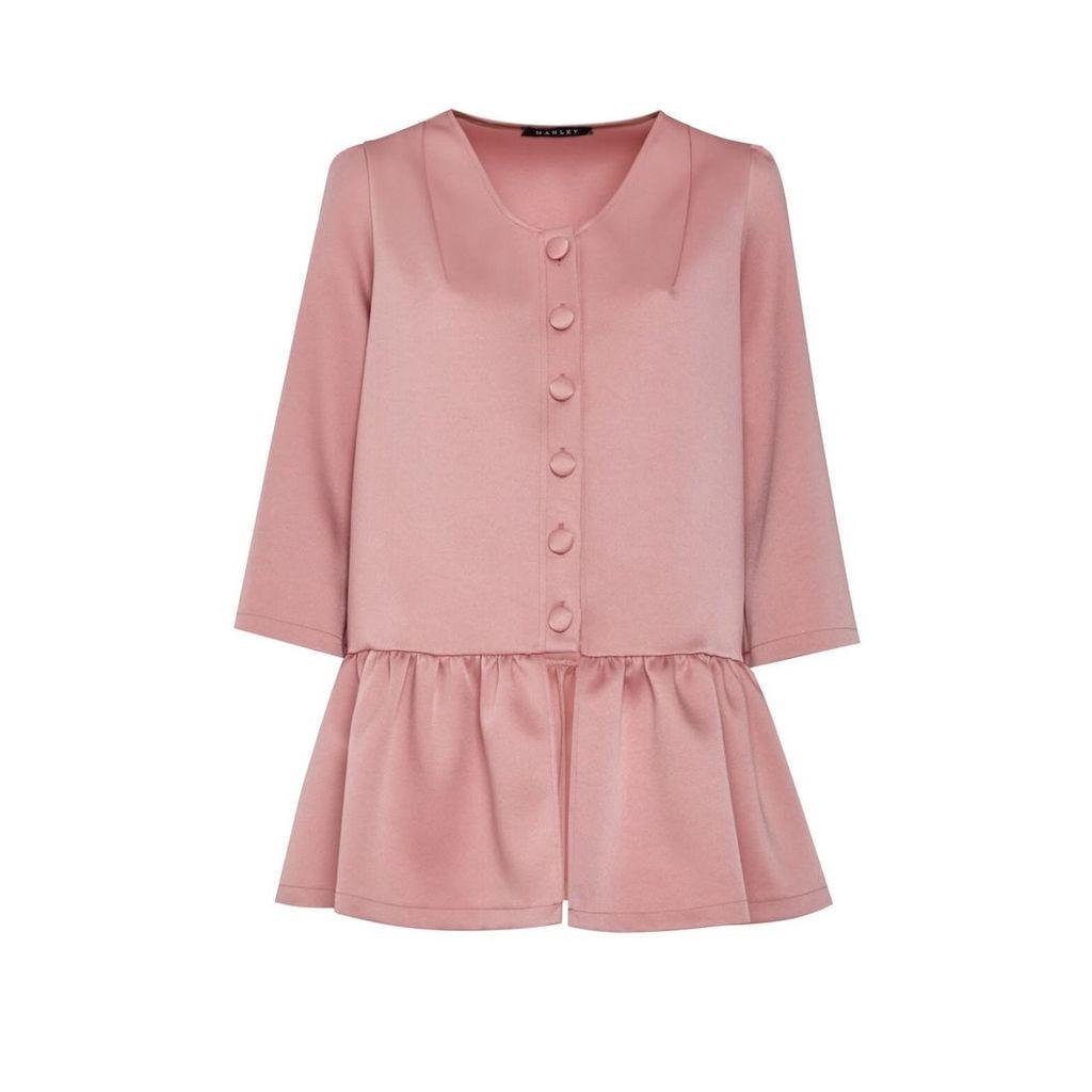Manley - Ailsa Coat - Pink
