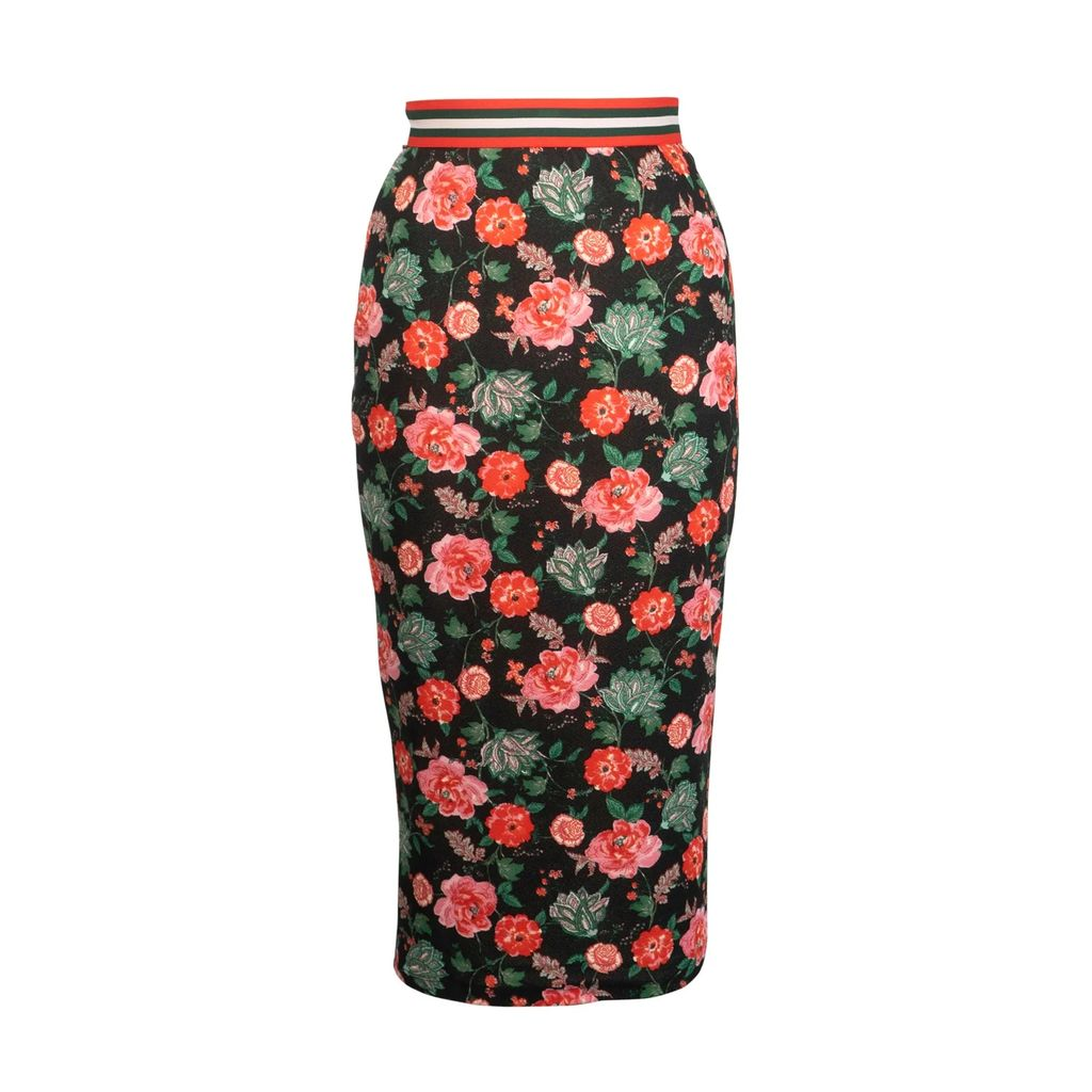 Nissa - Coat With Floral Print