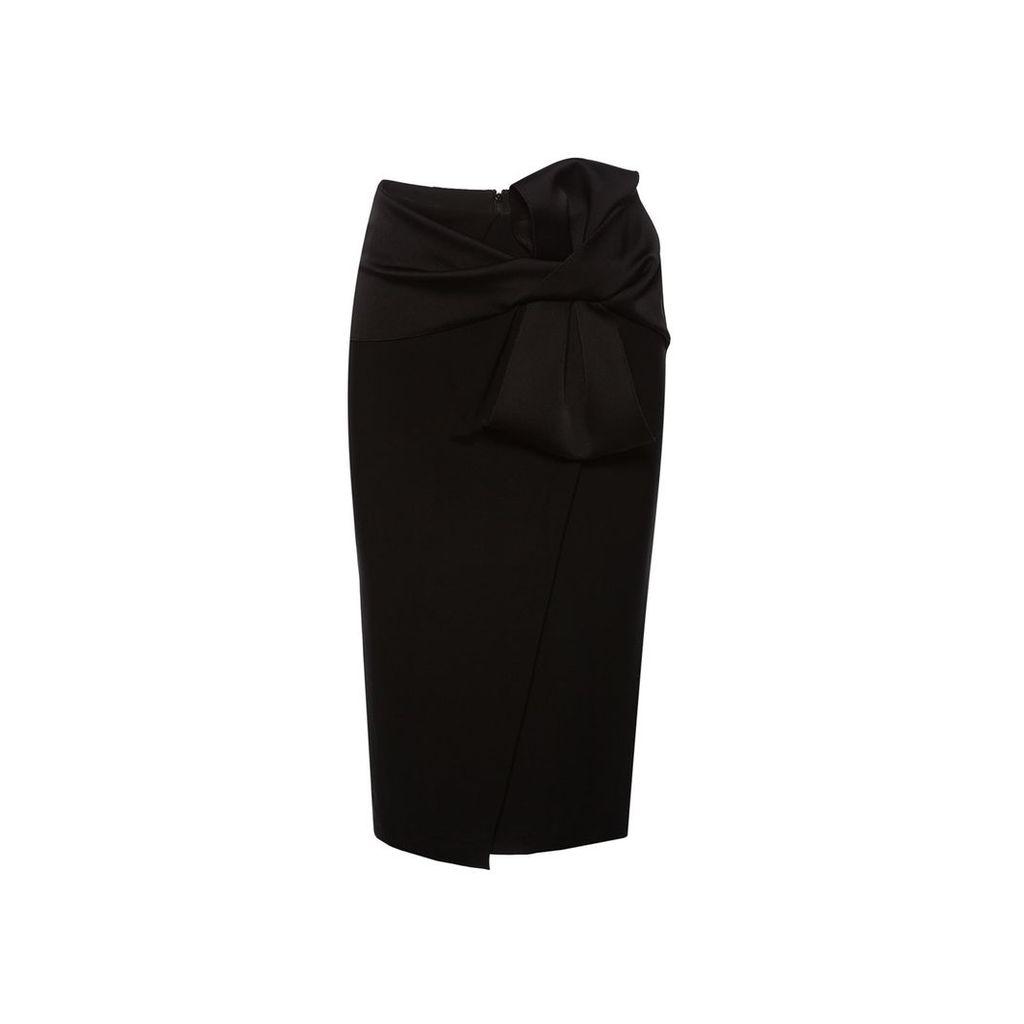 Nissa - Midi Skirt With Waist Bow