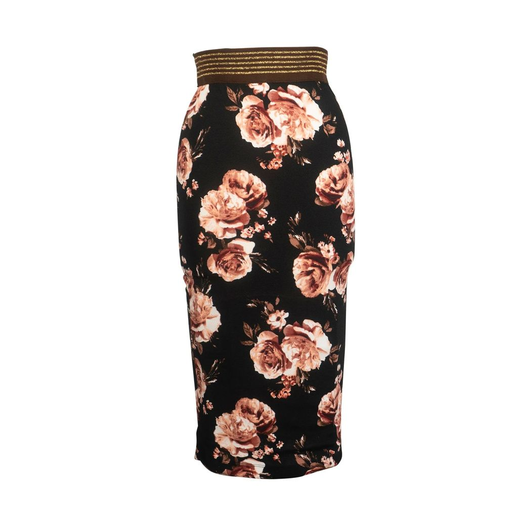 Nissa - Midi Office Skirt