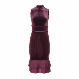 JIRI KALFAR - Gold & Blue Sequin Skirt