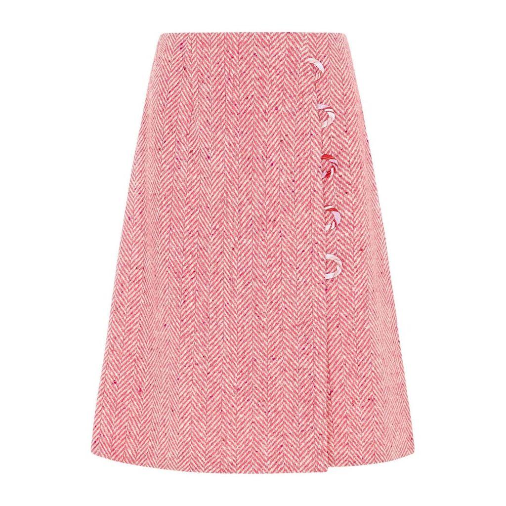 SABINNA - Alexa Skirt Midi Pink