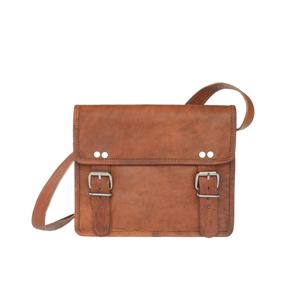 VIDA VIDA - Vida V Mini Leather 2 Buckle Bag