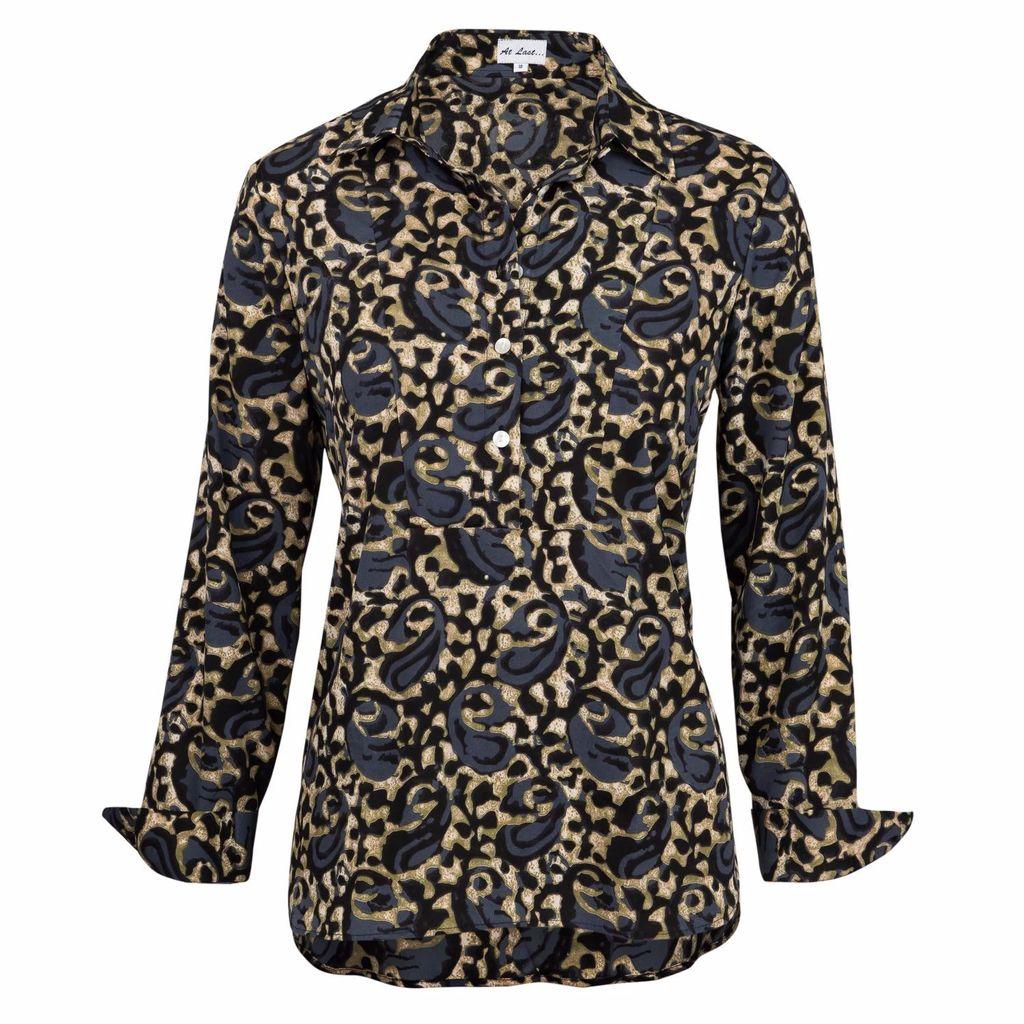 Emma Chapman Jewels - Divine Blue Topaz Diamond Earrings
