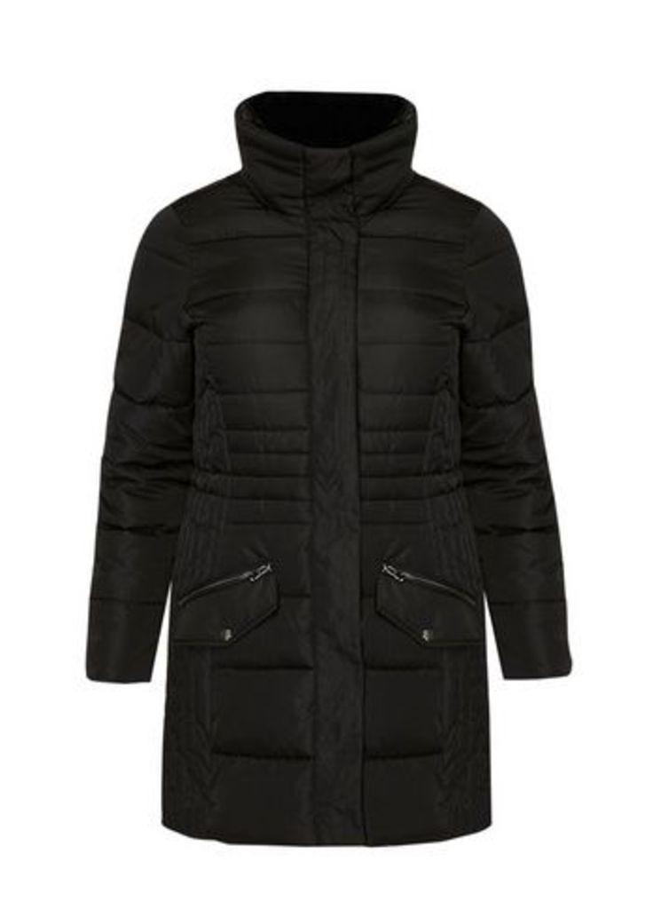 Black Padded Coat, Black
