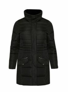 Black Padded Coat, Black