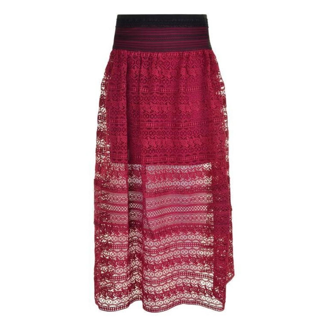 Three Floor Sunset Skirt