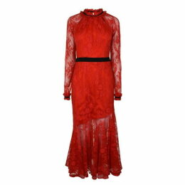 Three Floor Tease Maxi Dress