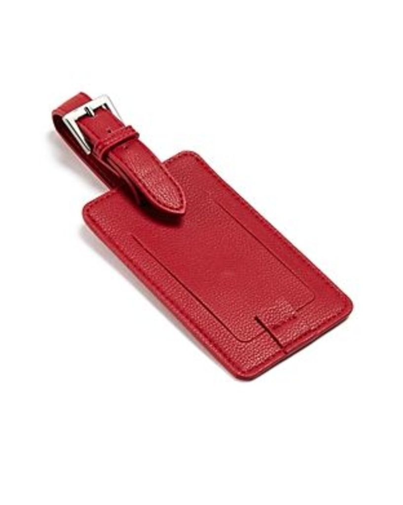 Campo Marzio Faux Leather Luggage Tag