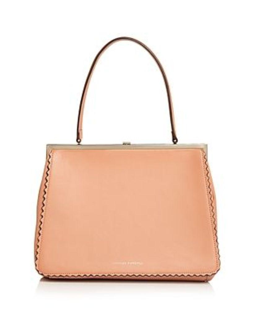 Loeffler Randall Olivia Leather Frame Bag