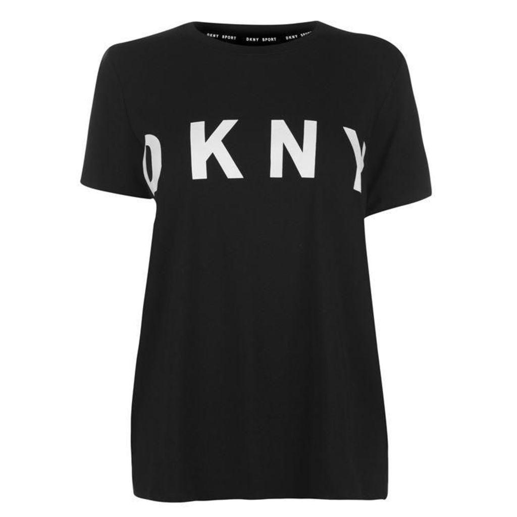 DKNY Logo Crew Tee