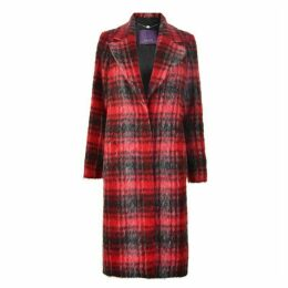 Laurel Check Coat