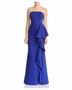 Eliza J Strapless Ruffled Dress