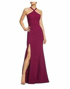 Dress the Population Brianna High-Neck Mermaid Gown