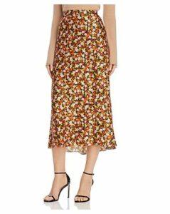 Bec & Bridge New Romantics Silk Midi Skirt