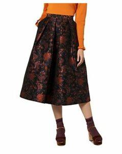 L.k.Bennett Delysia Floral Jacquard Midi Skirt