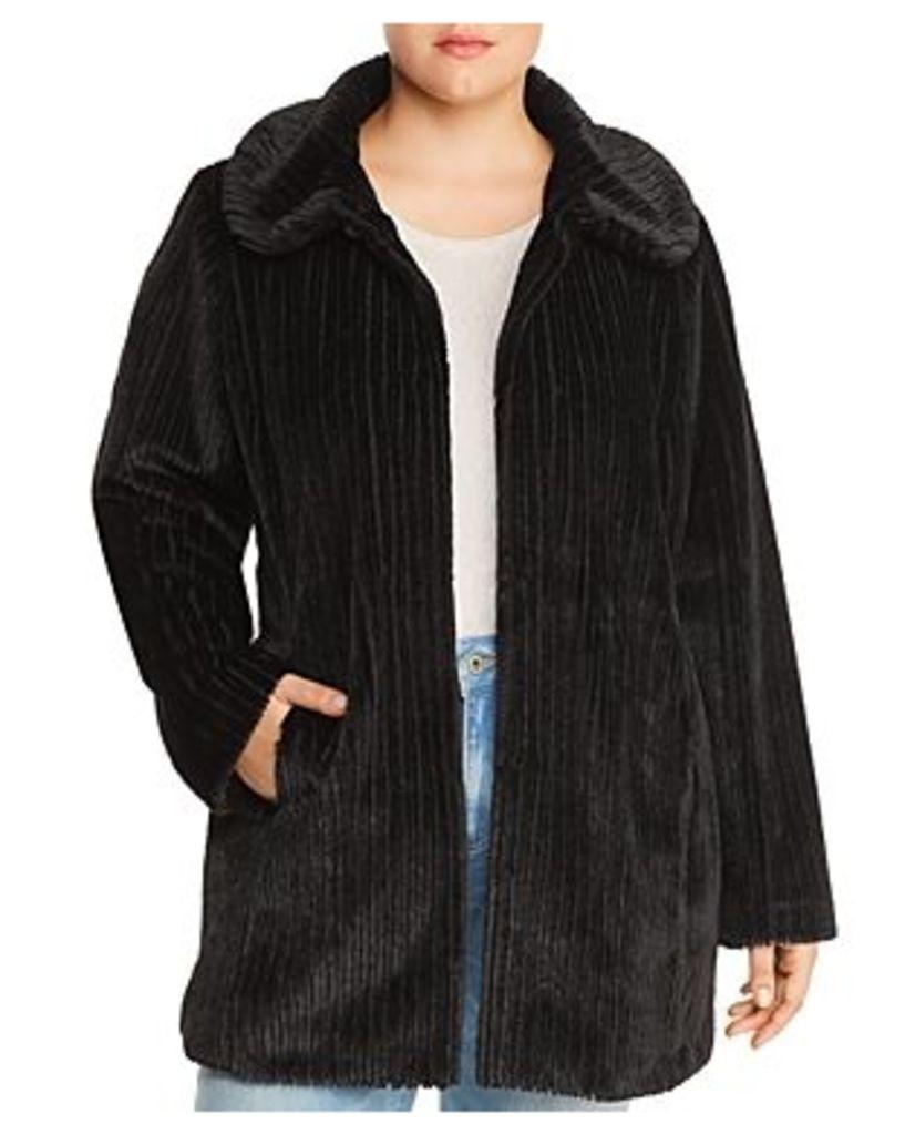 Estelle Plus Chenille Coat