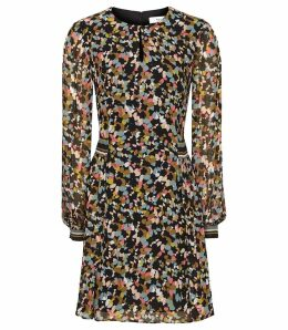 Reiss Martina - Ditsy Printed Dress in Multi, Womens, Size 16